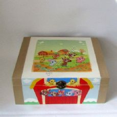 'Down at the Farm' Keepsake/Memory Box.